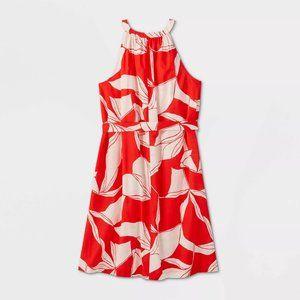 Women's Tie Waist Shirtdress - A New Day - BWT